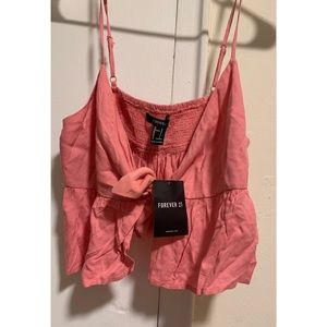 Forever 21 Tops - Blush crop top